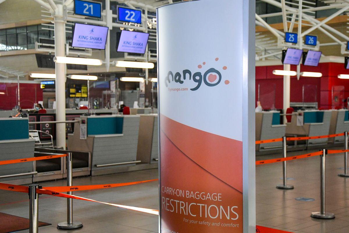 South Africa's Mango Airlines to Seek Bankruptcy Restructuring