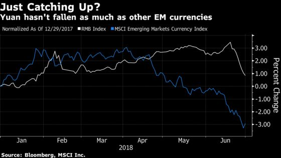 China Will Halt a Disorderly Yuan Slide, Morgan Stanley Says
