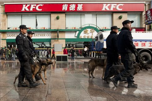 China's Spending on Internal Policing Oustrips Defense