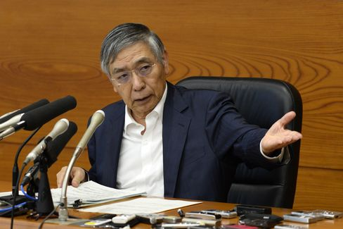 Bank of Japan Governor Haruhiko Kuroda Holds News Conference
