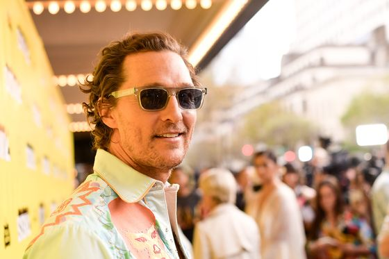Matthew McConaughey Continues String of Celebrity MLS Investors