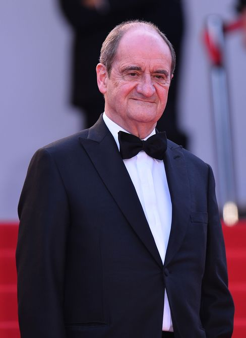 Pierre Lescure arrives for the screening of the film 'Dheepan' at the 68th annual Cannes Film Festival in Cannes, France. Photographer: Mustafa Yalcin/Anadolu Agency/Getty Images