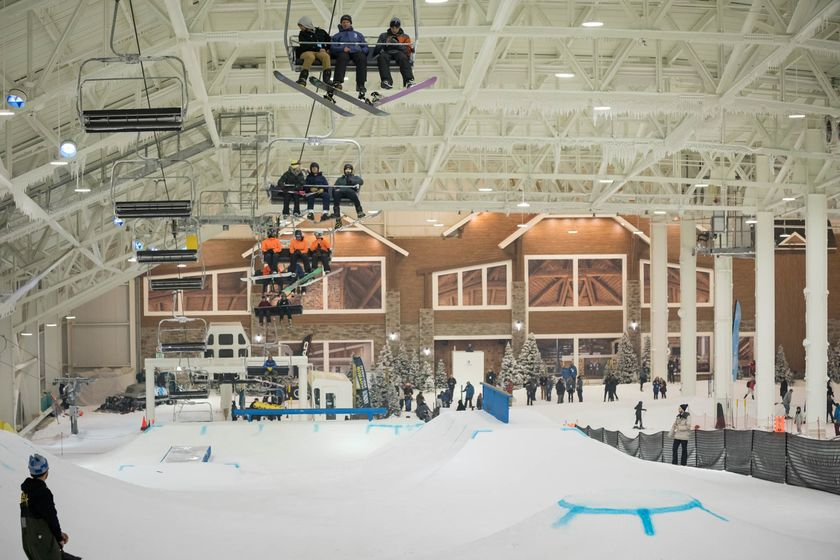 relates to North America's First Indoor Ski Slope Feels a Lot Like the Real Thing