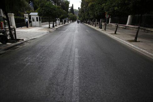 Athens Grinds to Halt as Protesters on Debt Greet Merkel's Visit