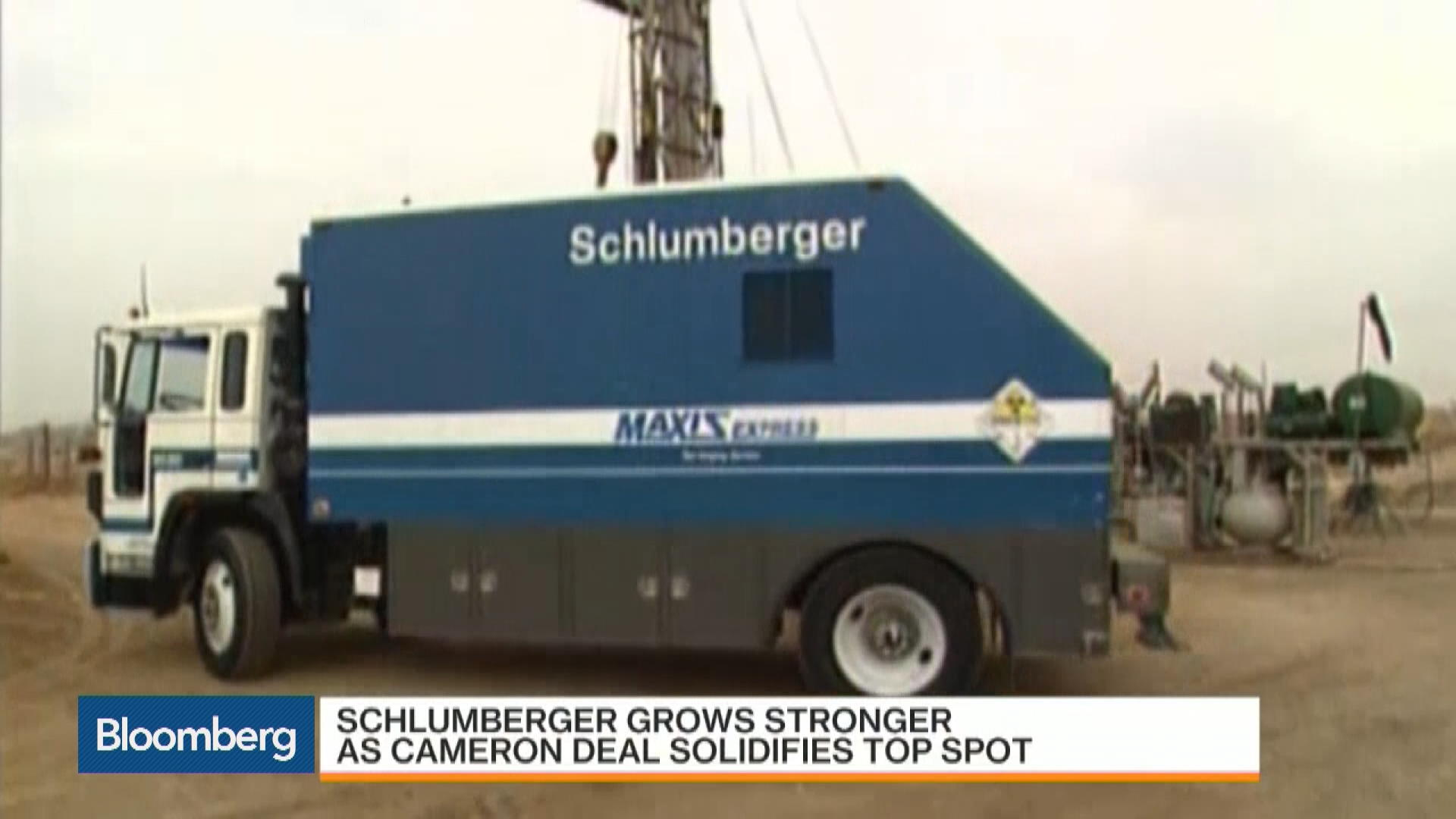 Schlumberger Stronger as Cameron Deal Soldifies Top Spot