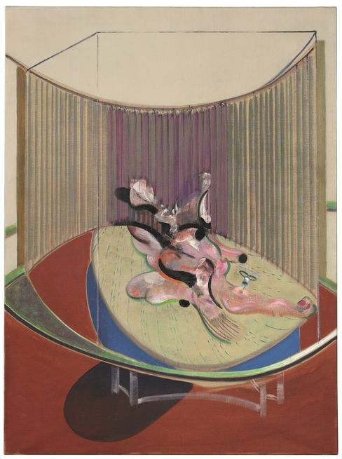 Francis Bacon's Version No. 2 of Lying Figure with Hypodermic Syringe