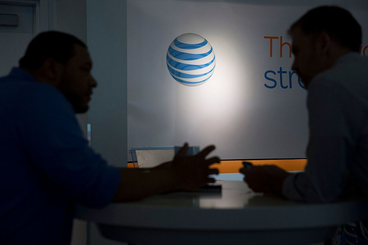 AT&T's Activist Fight Stirs Debate Over What Its Brand Stands For