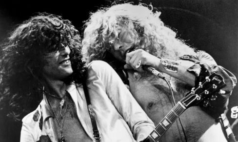 Led Zeppelin Performing