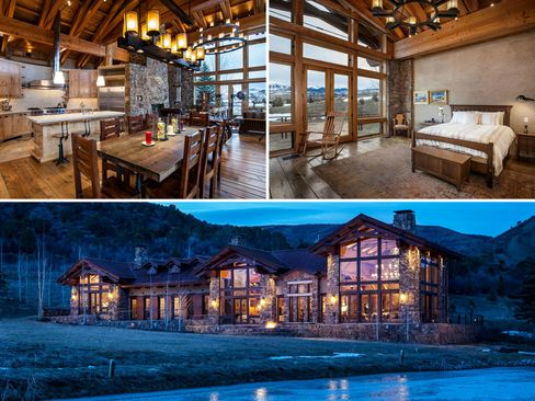A new home in Old Snowmass, Colo., on 40 acres.