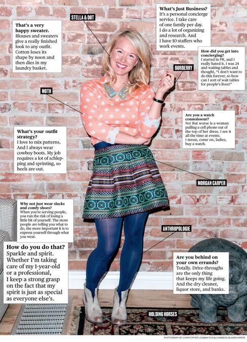 What I Wear to Work: Just Business's Julia Baker Hansen