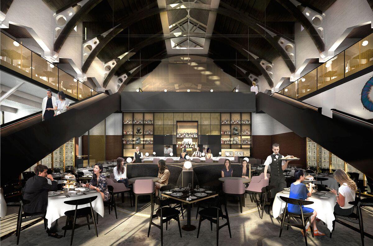 Tesla Model S Interior >> London's Historic German Gymnasium to Open as a Restaurant ...