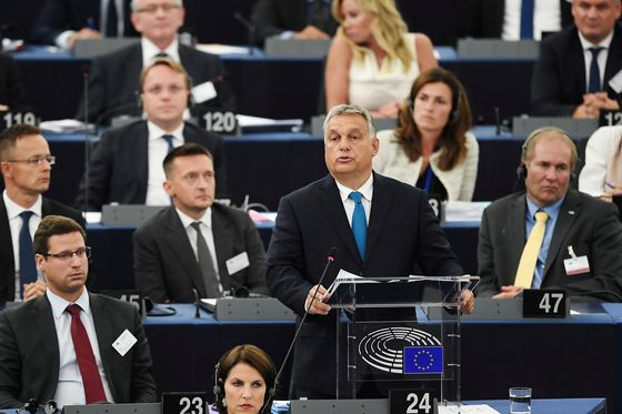 Orban on Path to Ouster From EU Party After 'Impossible'Demands