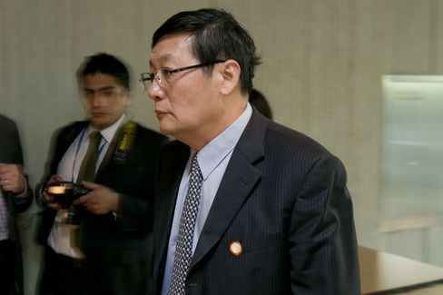 China's Finance Minister Lou Jiwei