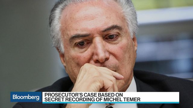 Brazil's Lebanese president now faces criminal charges, in 1st for the country