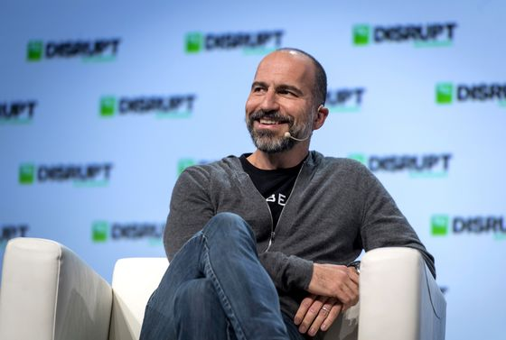 Uber's Executives Have Big Payouts Riding on a $120 Billion Value Target