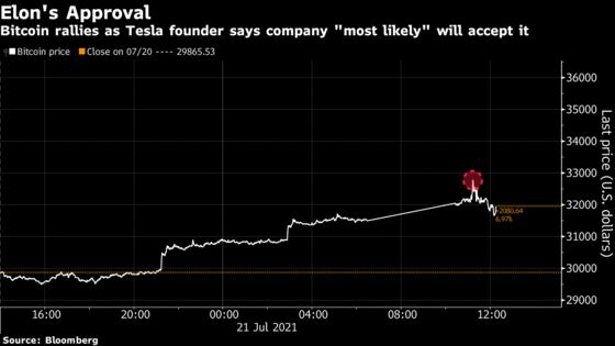 Musk Says SpaceX Owns Bitcoin, Wood Touts Balance-Sheet Benefits