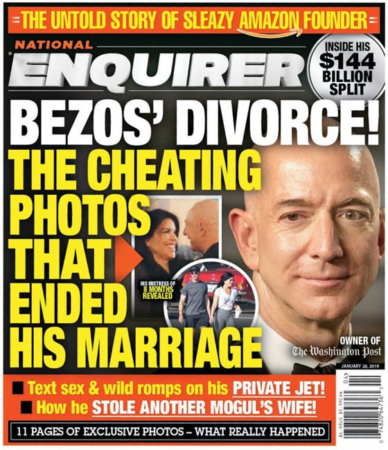 Jeff Bezos: Extortion and Embarrassing Photos Won't Distract Me