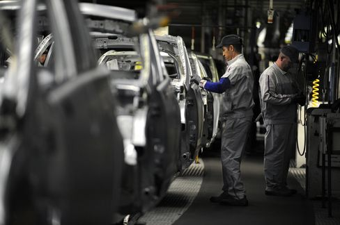 French Company Sentiment Falls as Crisis Talks Continue