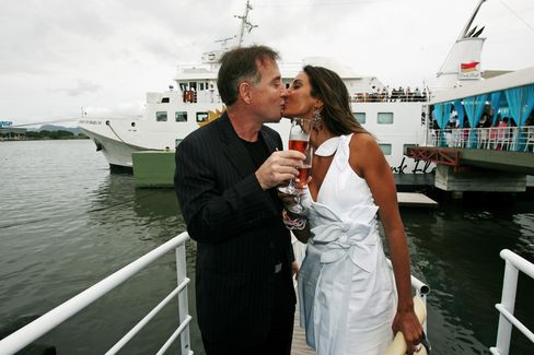 Party Boat Departs Rio as Olympic City Loses Billionaire Patron