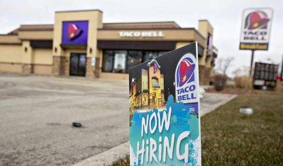 What Taco Bell's $100,000 Salary Offer Says About U.S. Jobs