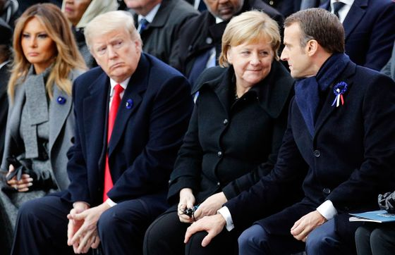 The Moment Macron Gave Up on Trump