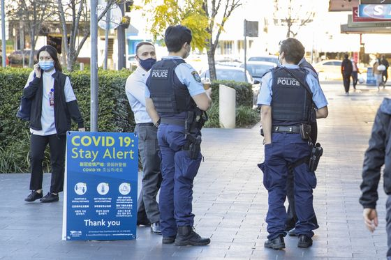 Sydney Tightens Its Lockdown as Delta Cases Surge to Record