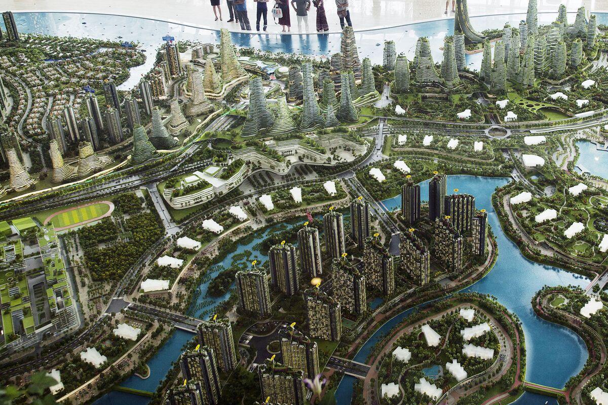 The 100 billion city next to singapore has a big china for Design company singapore