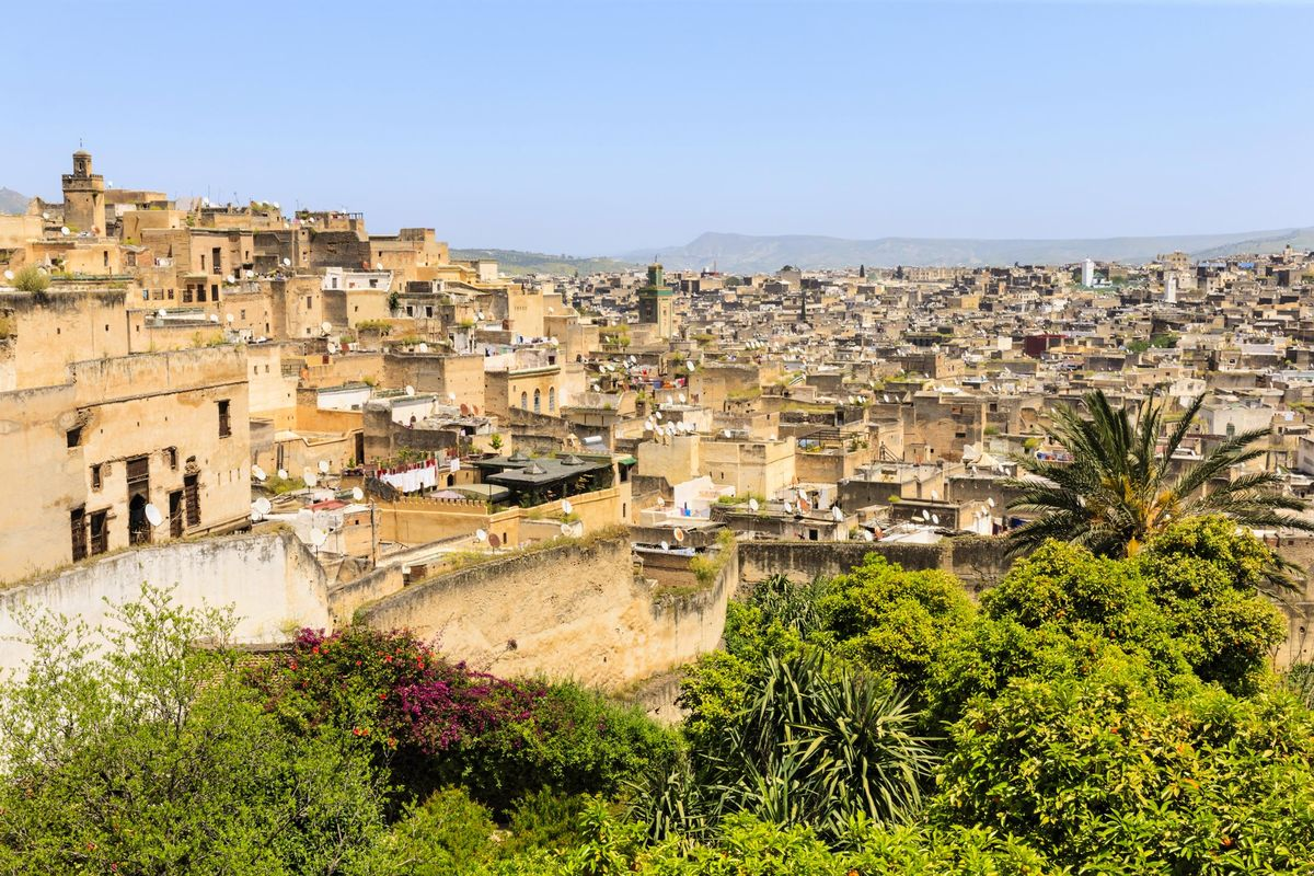 View Over Fez