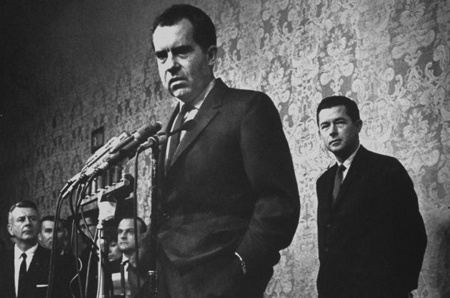 Richard Nixon, after losing the California governor's race