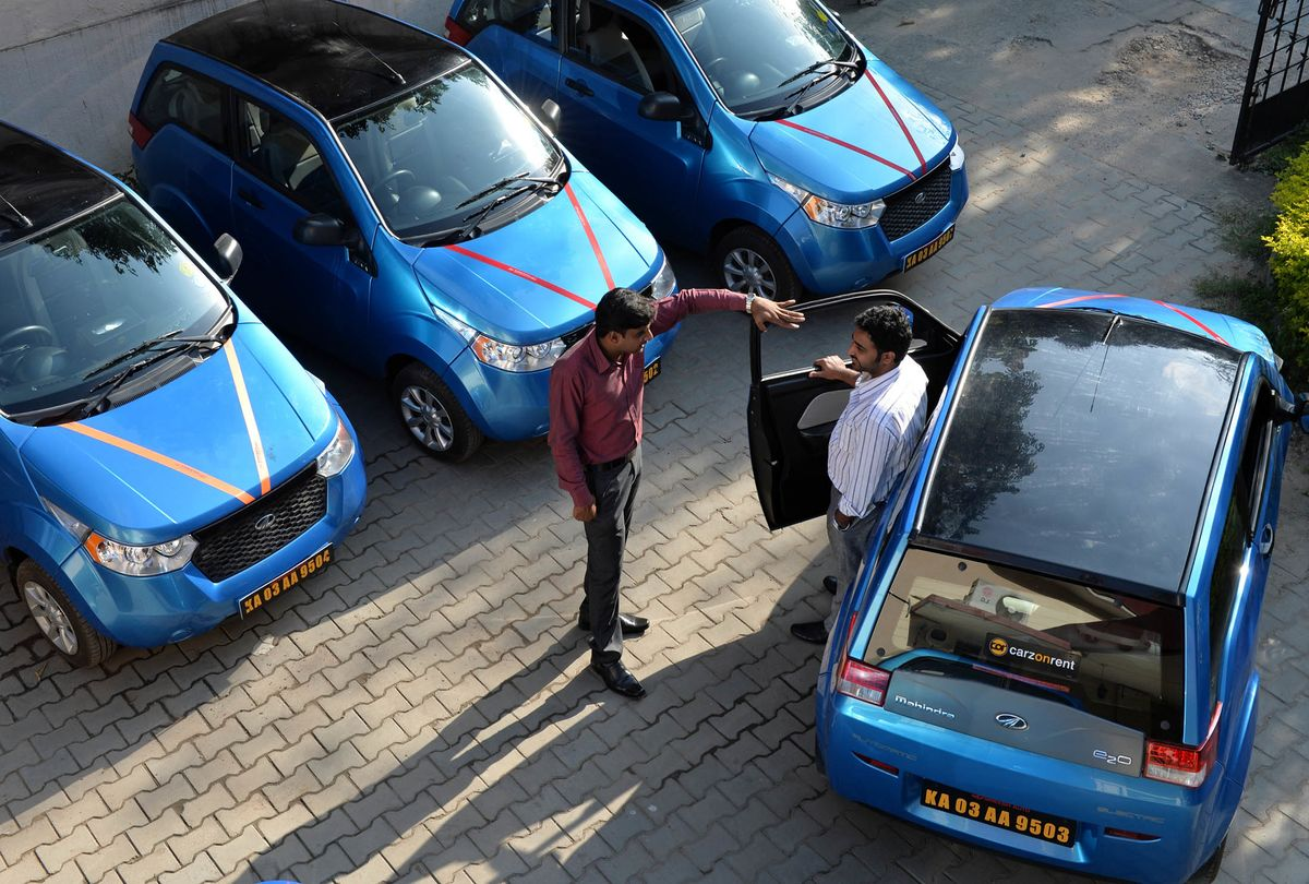 India's Electric Car Champion Says Profit Tipping Point Nigh