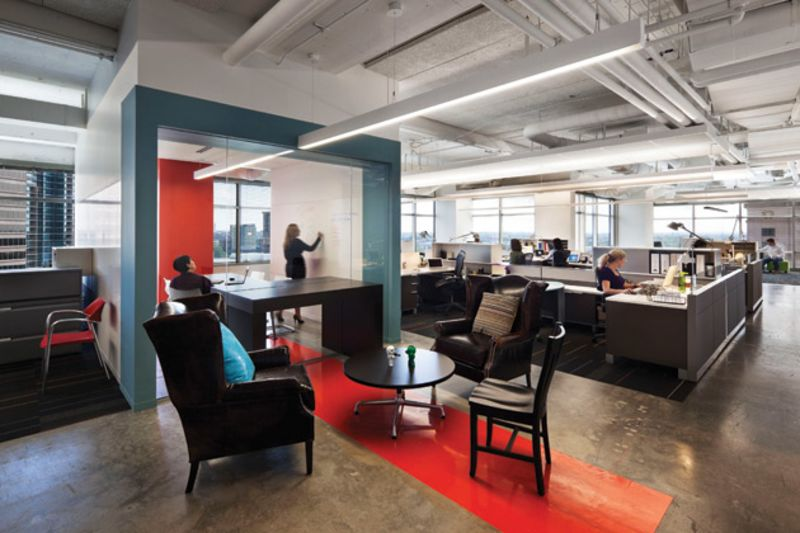 Open Concept Office Design Ending The Tyranny Of The Openplan Office  Bloomberg