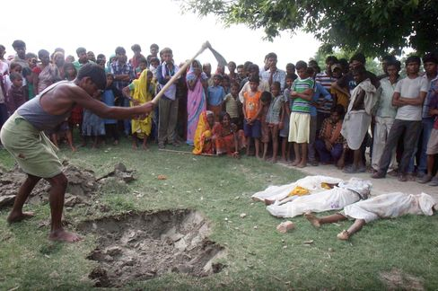 Children Buried at Indian School as Pesticide Blamed for Deaths