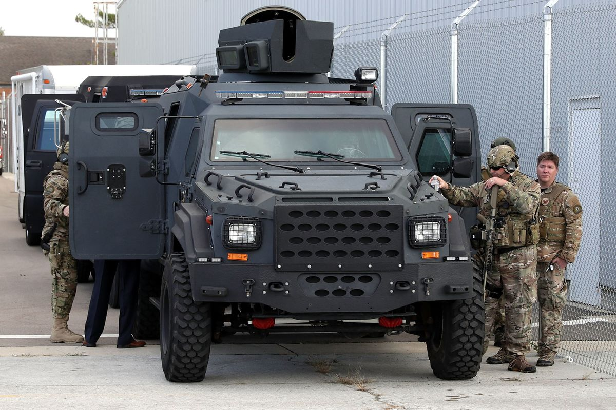 Trump Rescinds Obama Ban On Giving Military Gear To Police