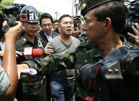 Member of ousted Thai government Watana Muangsook