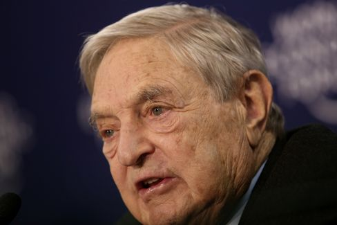Soros Says Hedge Funds Can't Outperform Market Because of Fees