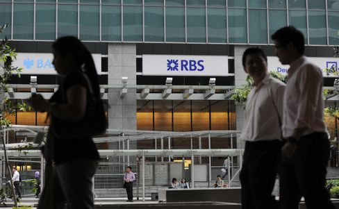RBS Said to Win Bid to Seal Court Papers in Singapore Libor Case