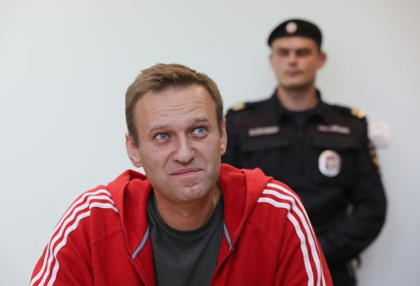 Russia Opposition Leader Alexey Navalny Appears In Court