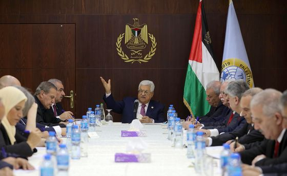 Palestinian Authority Swears in New Government Excluding Hamas