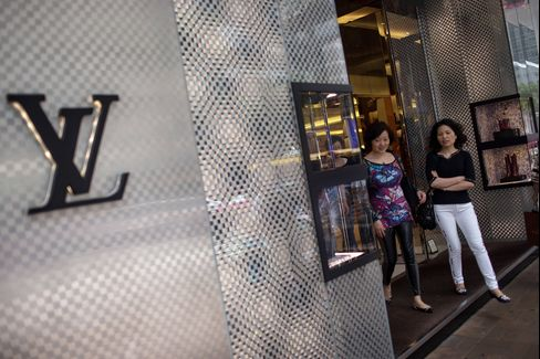 Luxury Brand Stores In Hong Kong Ahead Of CPI Figures