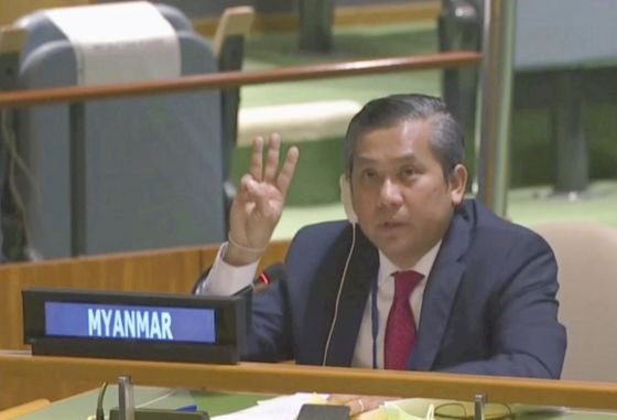 Myanmar's Fired UN Envoy Pushes Asean to Get Tough on Army Coup