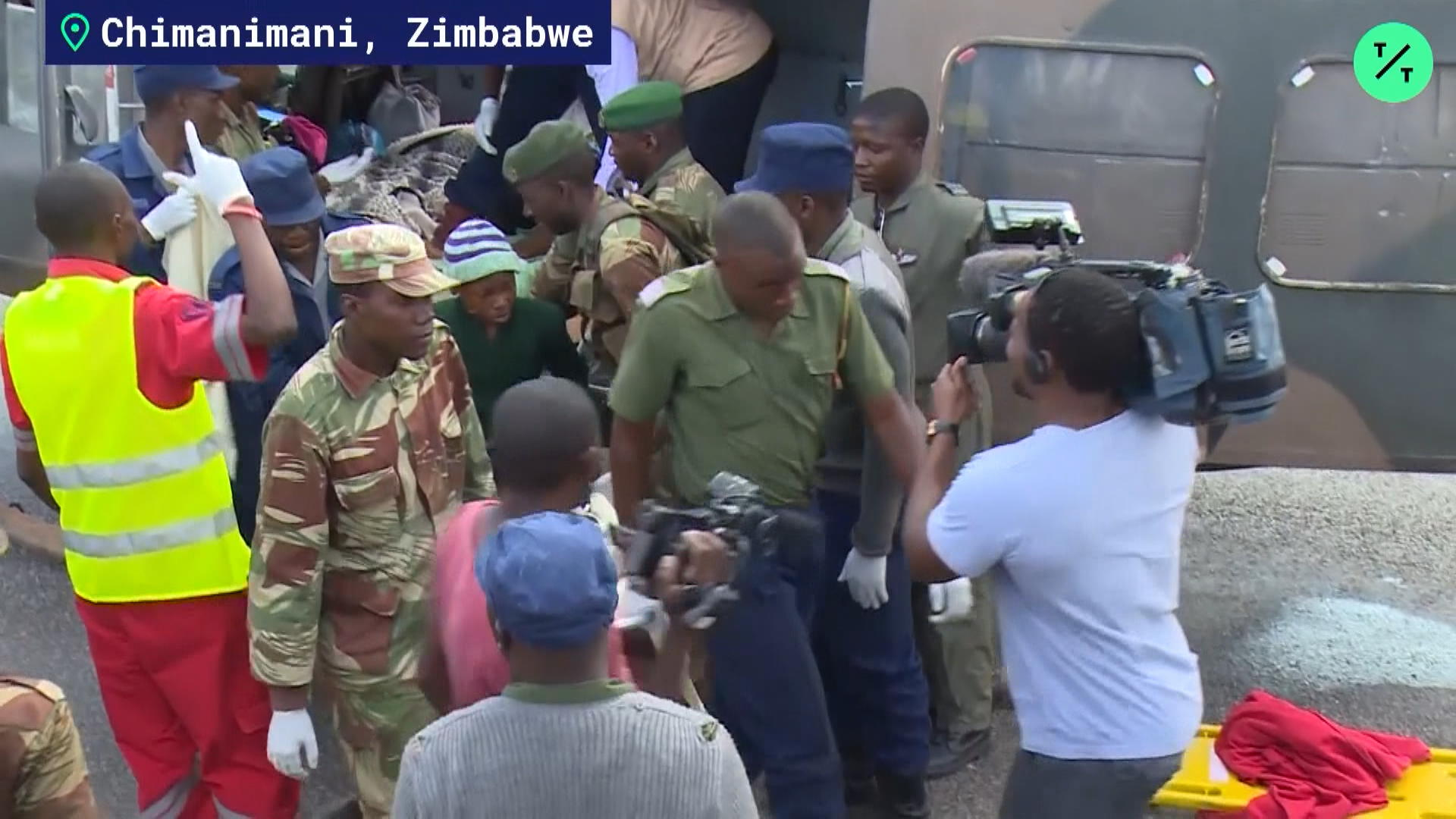 Rescue Efforts In Zimbabwe After Cyclone