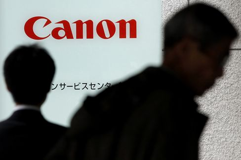 Canon Predicts 14% Rise in Annual Profit Helped by Weaker Yen