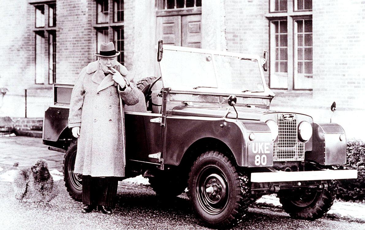 Churchill's Personal Defender