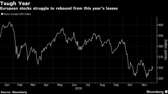 European Stocks Slump on Trade Woes as Banks to Miners Slide