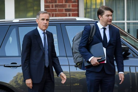 Carney Says BOE Is Prepared for Whatever Happens in Brexit