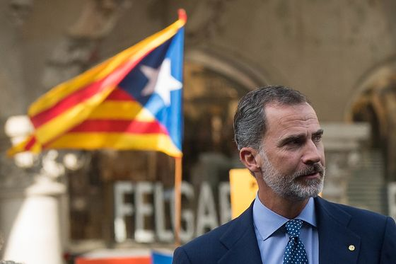Spanish King Returns to Site of Humiliation in Catalonia