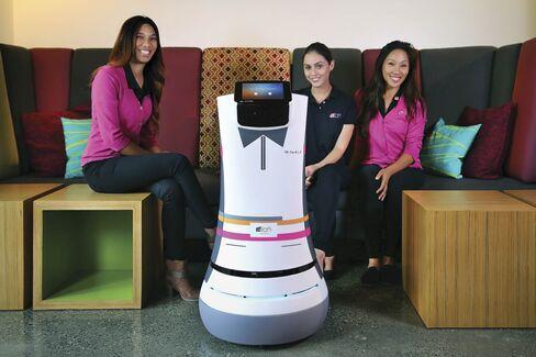 Botlr, Aloft's robotic butler.