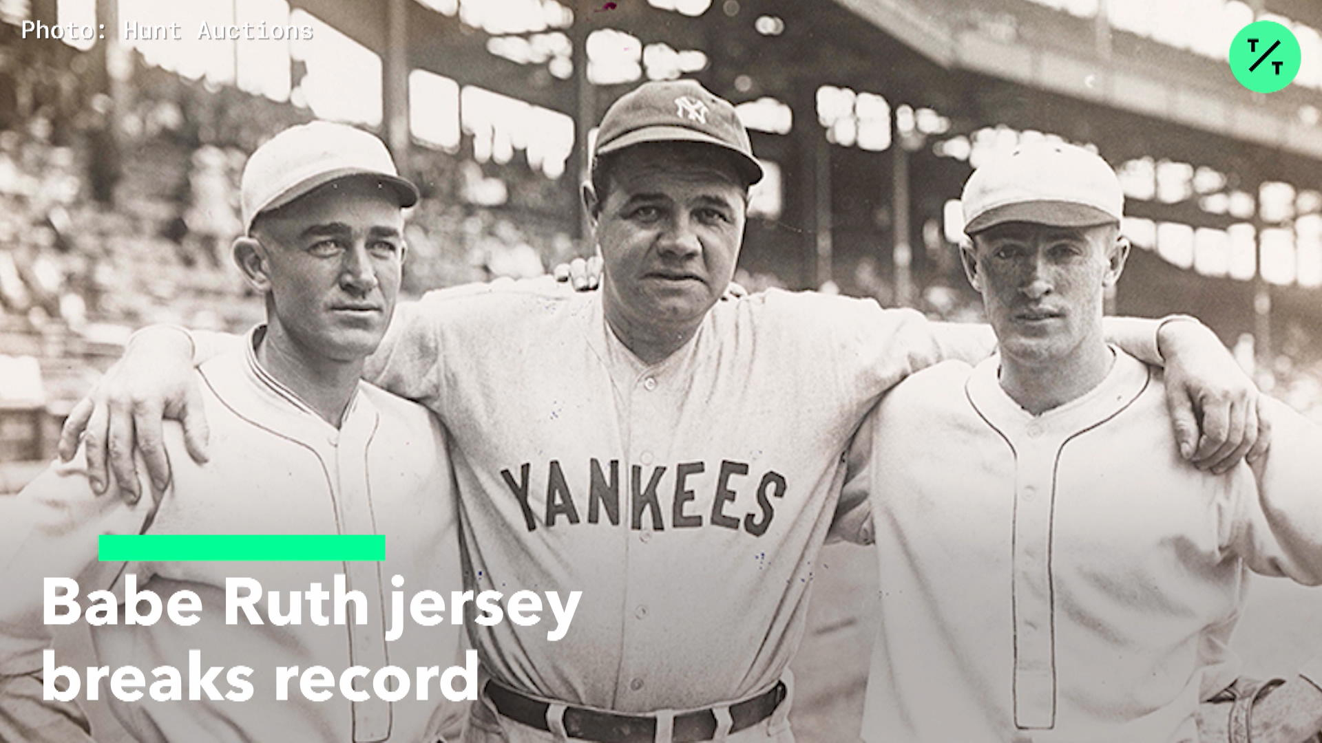ca1925c1d67 Babe Ruth Jersey Breaks Record – Bloomberg