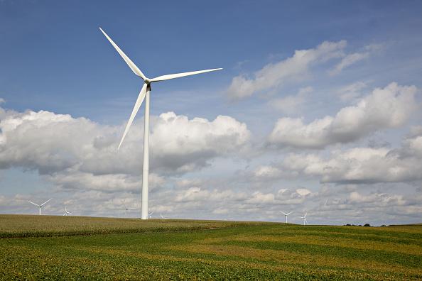 Wind poweris rural.