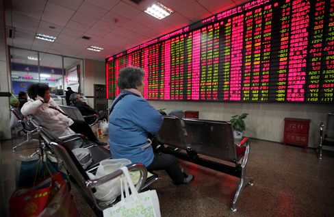 China's Stock-Index Futures Rise, Signaling First Gain This Week